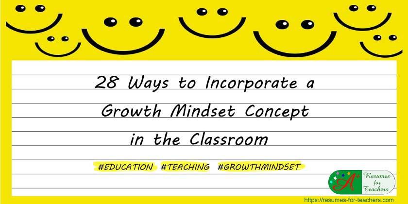 28 Ways Growth Mindset