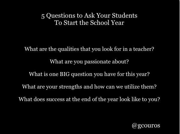 5 Student Questions