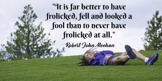 Frolicking quote