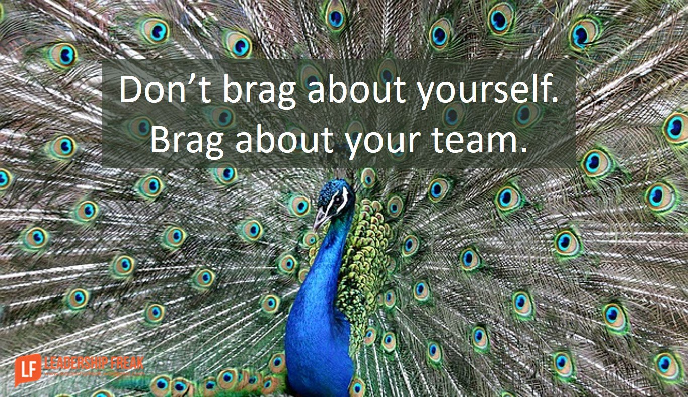 Brag about your team