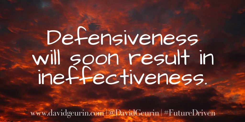 Defensiveness Quote