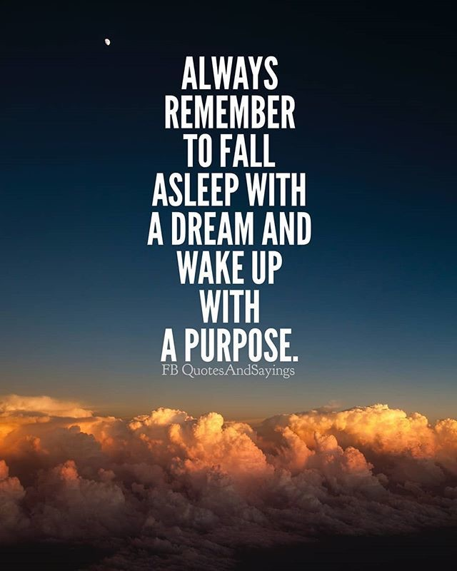 Dream and Purpose