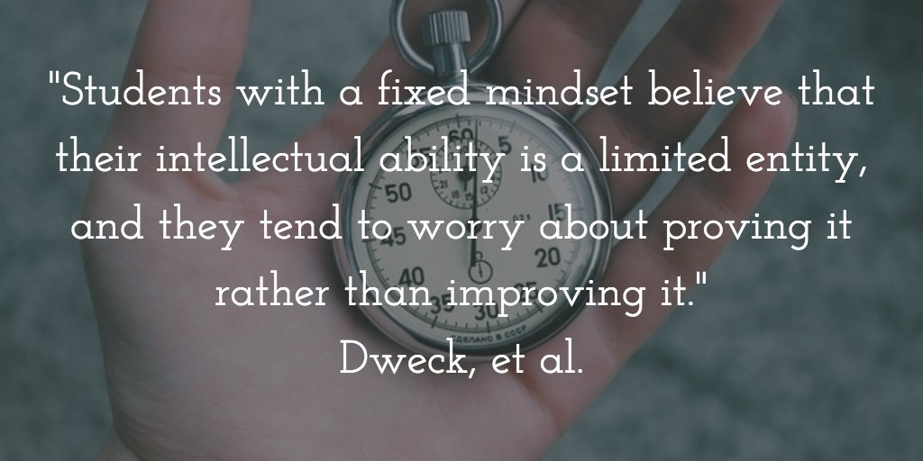 Dweck Quote