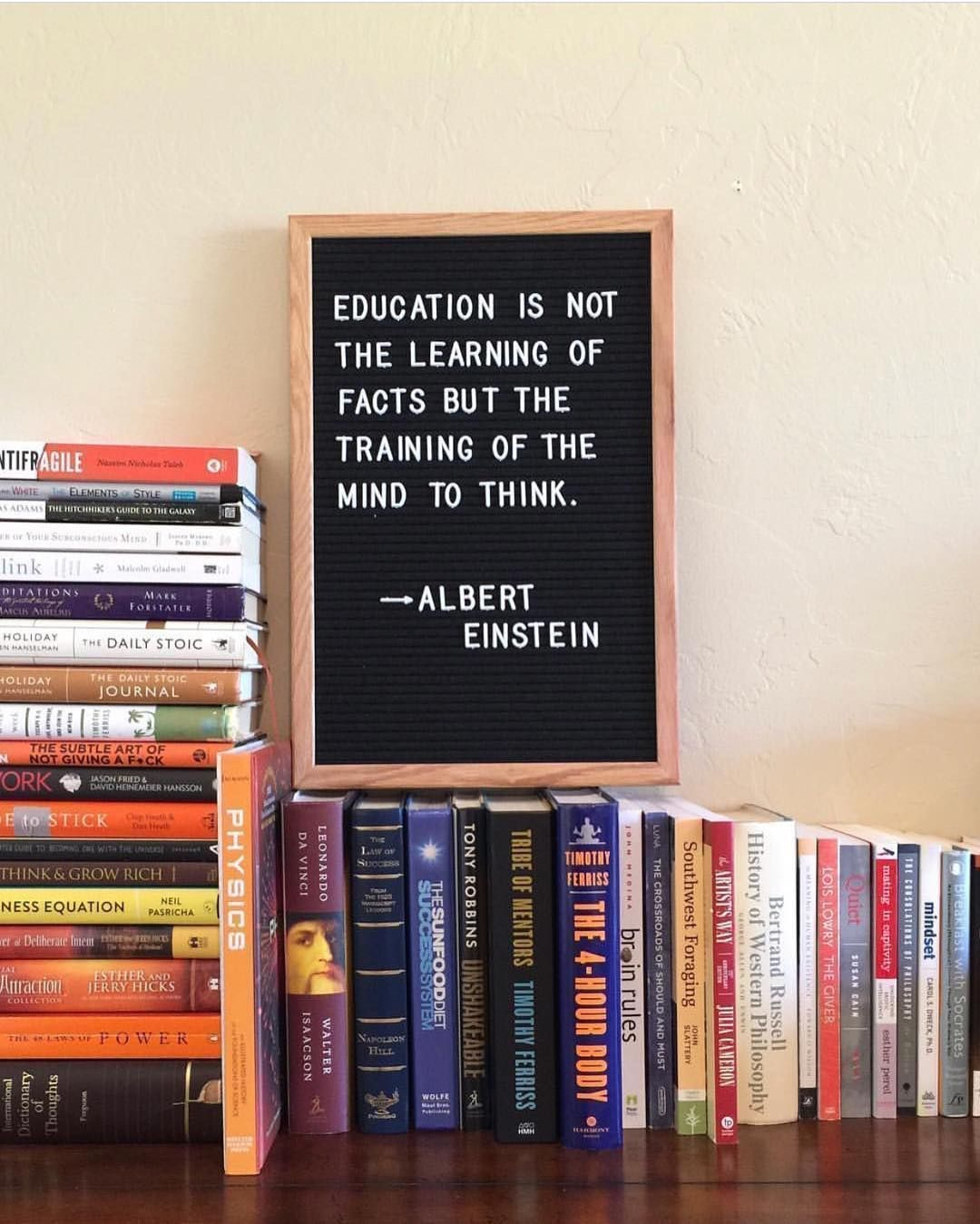 Education Is Einstein