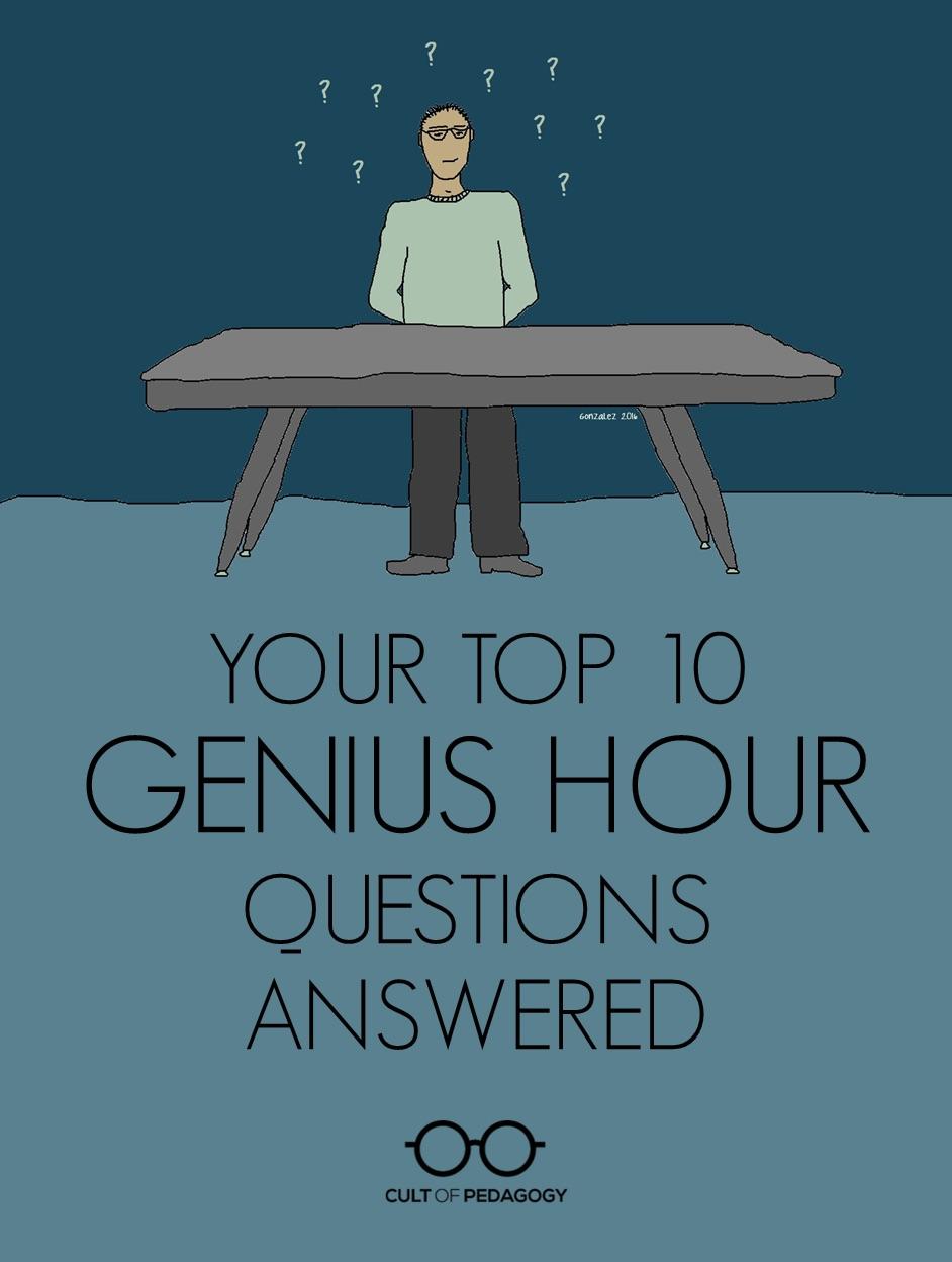 Genius Hour Questions