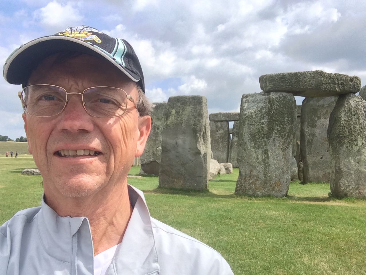 Doug at Stonehenge