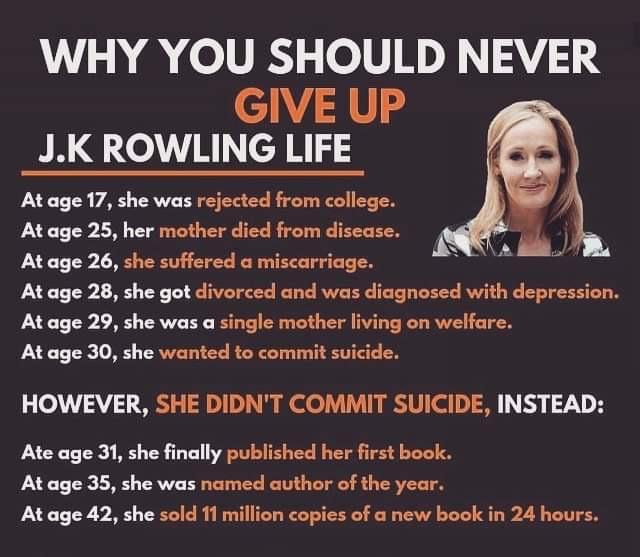 JK Rowling's Life