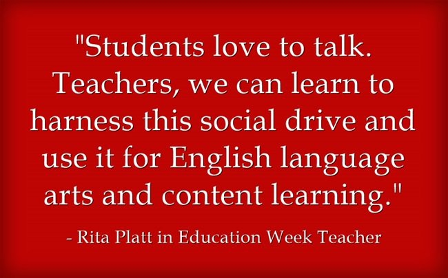 Students Love to Talk