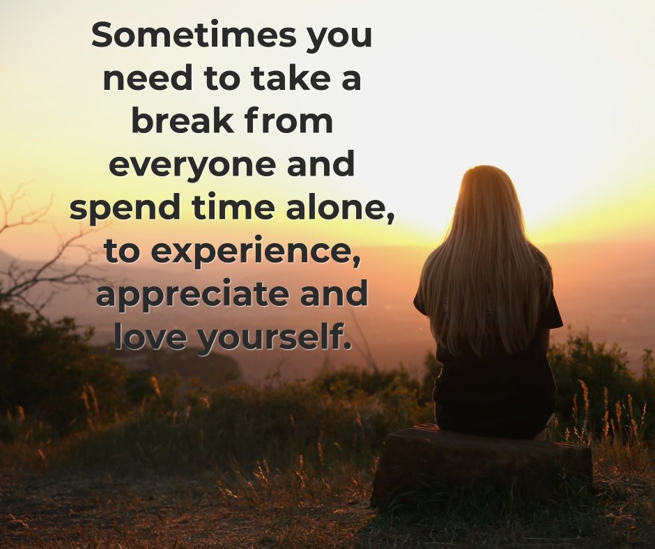 Take Time Alone