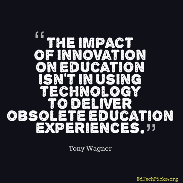 Tony Wagner Quote
