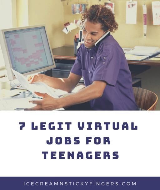 Virtual Teen Jobs